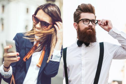 Venu tout droit des États-Unis, comme tant d autres tendances actuelles    le style old school se décline au masculin et au féminin. da0cc8d51f0