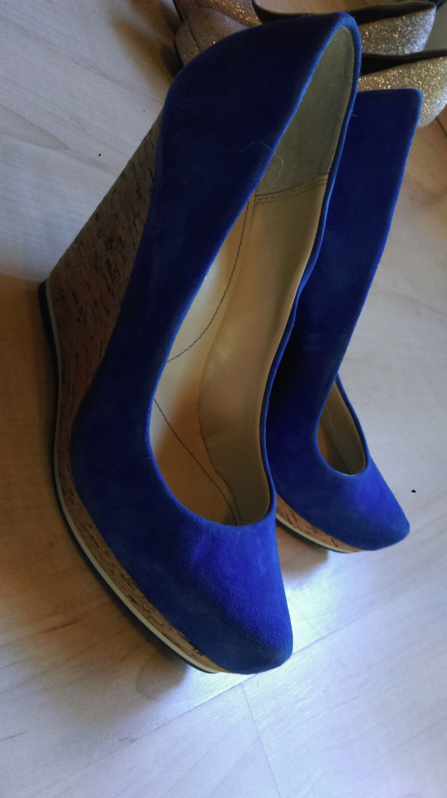 NEU  PUMPS   LUXURY REBEL PUMPS  BLAU Größe 38 17908e