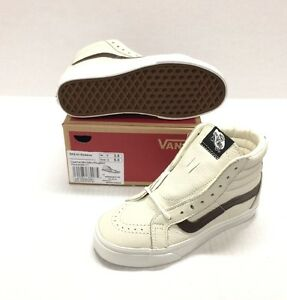 2672ac9bf3 VANS SK8-HI REISSUE  VN0A2XSBLYT (LEATHER) BLANC DE BLANC PLOTING ...