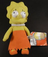 Lisa Simpson Doll Plush Stuffed with Tag from The Toy Factory 2013
