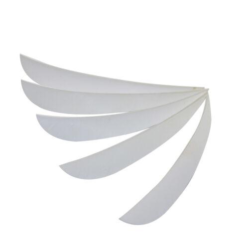 "5/"" 30//60pcs Archery Arrow Fletchings Shield Shape Turkey Feather Right Wing"