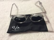 111ab3ca5ab item 4 QUAY AUSTRALIA Women s Brooklyn Clear Silver Mirror Sunglasses -QUAY  AUSTRALIA Women s Brooklyn Clear Silver Mirror Sunglasses