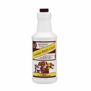 Canine Red Cell Liquid Dog Vitamin Iron Mineral Supplement 32oz Beef & Liver