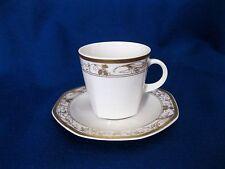 Espressotasse mit Untertasse weiß gold Winterling Schwarzenbach
