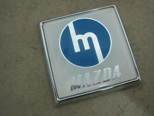 NOS CLASSIC MAZDA Familia 800 1000 Cosmo Luce 1500 R100 RX-2 RX-3 GRILLE BADGE