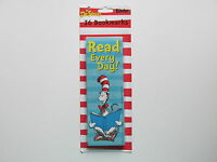36 Dr. Seuss Cat In The Hat Read Every Day Bookmarks Favors Free S/h Book Marks