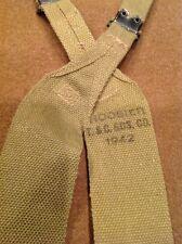 Minty Early WW2 1942 Date USGI US Military Army M1936 Khaki Combat Suspenders