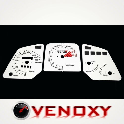 Honda VFR 750 1988-1989 RC24 Tachoscheiben Tacho WEISS