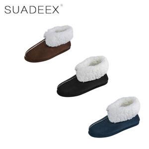 Herren Winter Hausschuhe Warm Pantoffeln Plüsch Slippers Weich Stiefel Schlappen Dauerhaft Im Einsatz