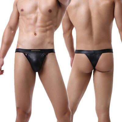 Shorts PVC Underwear Superior Quality Size S ~ M ~ L Blue and black Color