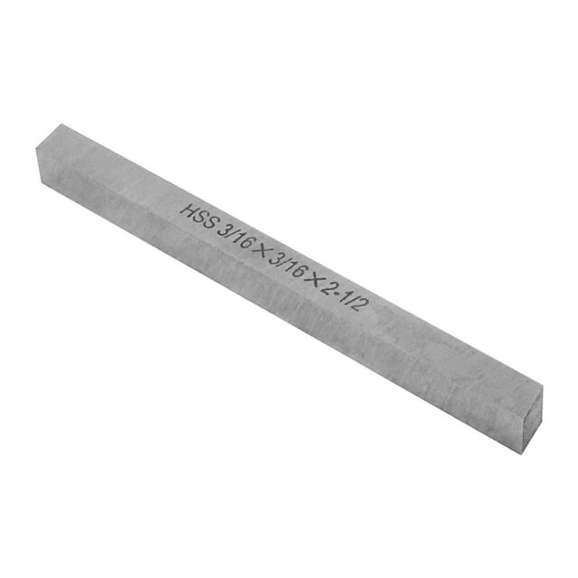 """2000-0078 3//8 X 6/"""" M2 HIGH SPEED STEEL EXTRA LONG SQUARE TOOL BIT"""