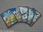 5 cartes LEGO CHIMA game cards ref 12717 / Set 70101 Target Practice