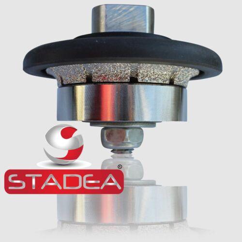 "STADEA Diamond Profile Wheel Hand Bits 3//16/"" Demi Radius Granite Stone Profiling"