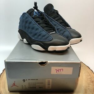 best service 53501 d7142 Image is loading OG-Nike-Air-Jordan-Retro-XIII-Black-Blue-