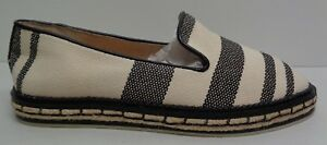 0e3375d5763 Vince Camuto Size 6 M JADINA Natural Black Espadrille Loafers New ...
