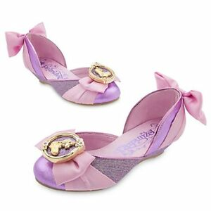 Disney Store Tangled Princess Rapunzel Dress Up Shoes Girls size 9 ...