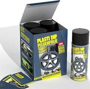 4 bombe plastidip plasti dip peinture noir mat pas foliatec spray film ebay. Black Bedroom Furniture Sets. Home Design Ideas