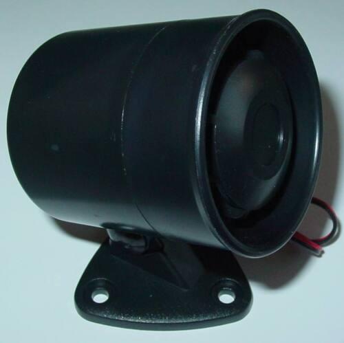 Piezo Alarmsirene Alarmanlage 12Vdc Mini Qualitäts Sirene 115dB AS2