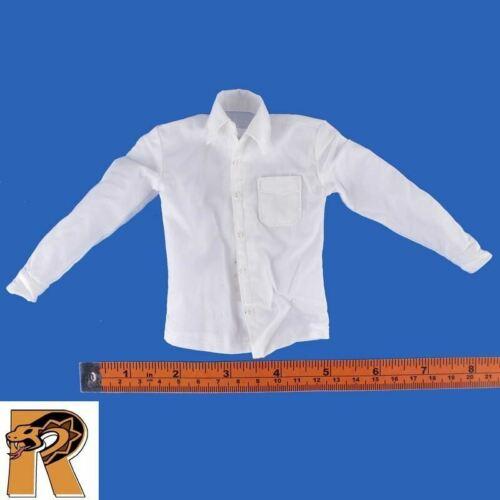 1//6 Scale-Boîte Noire Action Figures Spectre JAMES BOND-Robe Blanche Chemise