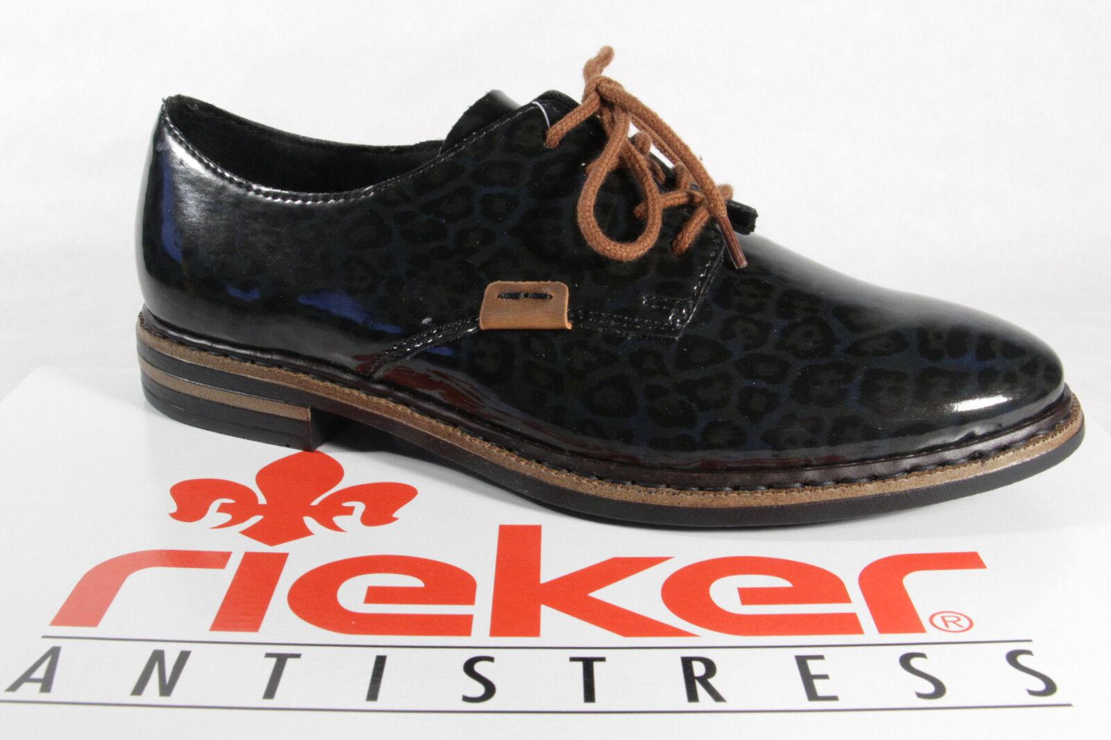Rieker Mujer Zapatos de Cordones, Zapatos, Zapatos, Zapatos, Zapatillas, Negro gris 50614 Nuevo  echa un vistazo a los más baratos