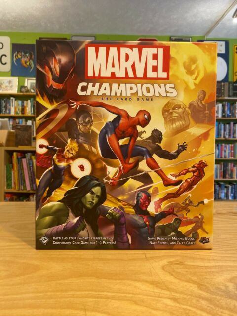 Marvel Champions The Card Game NEW LCG Core Set Fantasy Flight Games FFGMC01EN