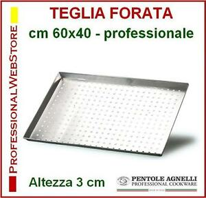 TEGLIA-RETTANGOLARE-FORATA-TEGLIE-CON-FORI-AGNELLI-cm-60-x-40-x-3-in-ALLUMINIO
