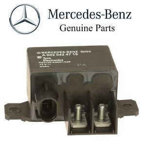 Mercedes cls500 e320 e350 auxiliary battery overload relay for Mercedes benz solar battery