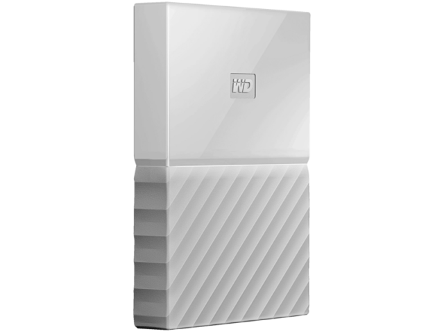 "Disco Duro De 1 Tb -Western Digital My Passport, Usb 3.0, 2.5"", Blanco"