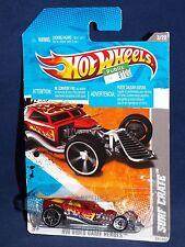 Hot Wheels 2011 Video Game Heroes Series #225 Surf Crate Dark Red  w/ OH5SPs
