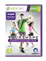 Xbox 360 Spiel Your Shape Fitness Evolved 2012 Kinect Erforderlich Neu