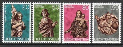 Kreativ Liechtenstein Nr 688/91 ** Weihnachten 1977 Postfrisch