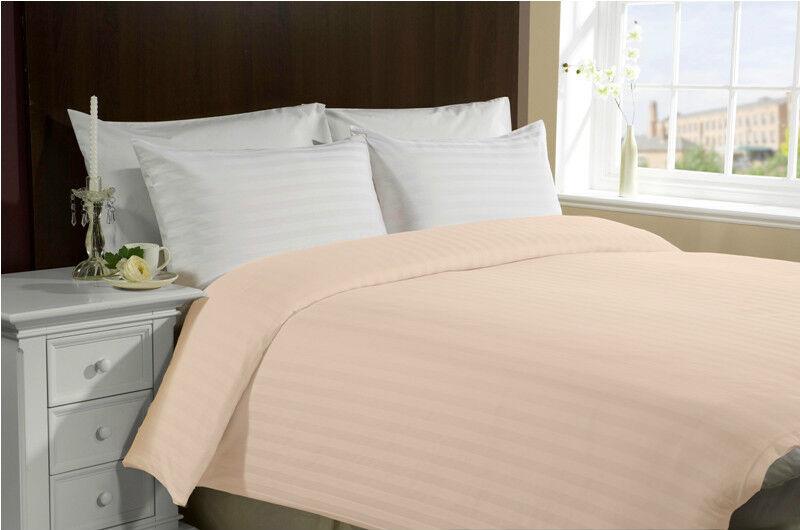 X1 Queen Full Größe 100% Cotton 300TC Duvet Cover - Stripe - Hotel - LASIN