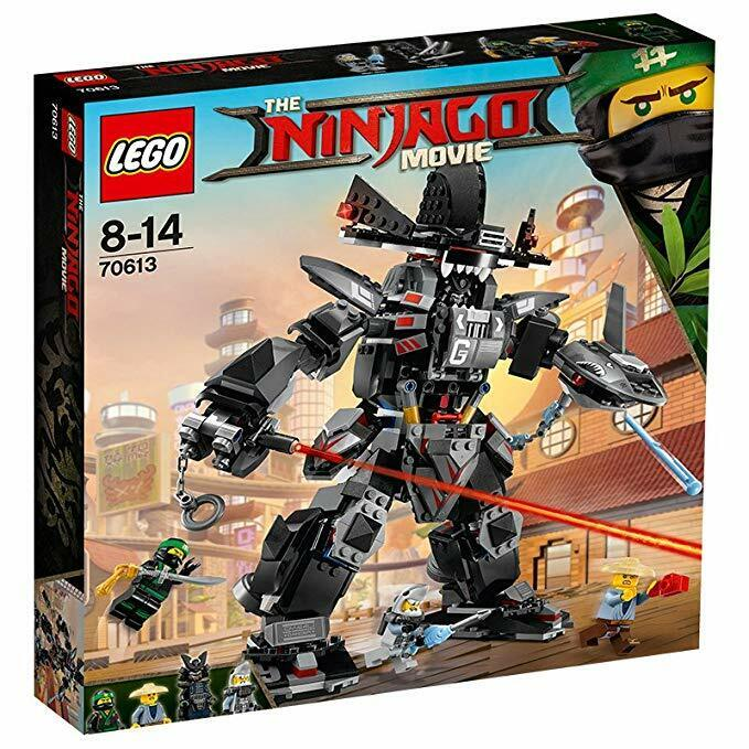 LEGO Ninjago Movie (70613) Garma Mecha Man (Brand New & Factory Sealed)