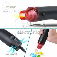 220V 300W Heat Gun Shrink Hot Air Temperature Electric Power Nozzles Tool US