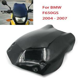 Black-Windshield-WindScreen-Screen-for-BMW-F650GS-F-650GS-2004-2005-2006-2007