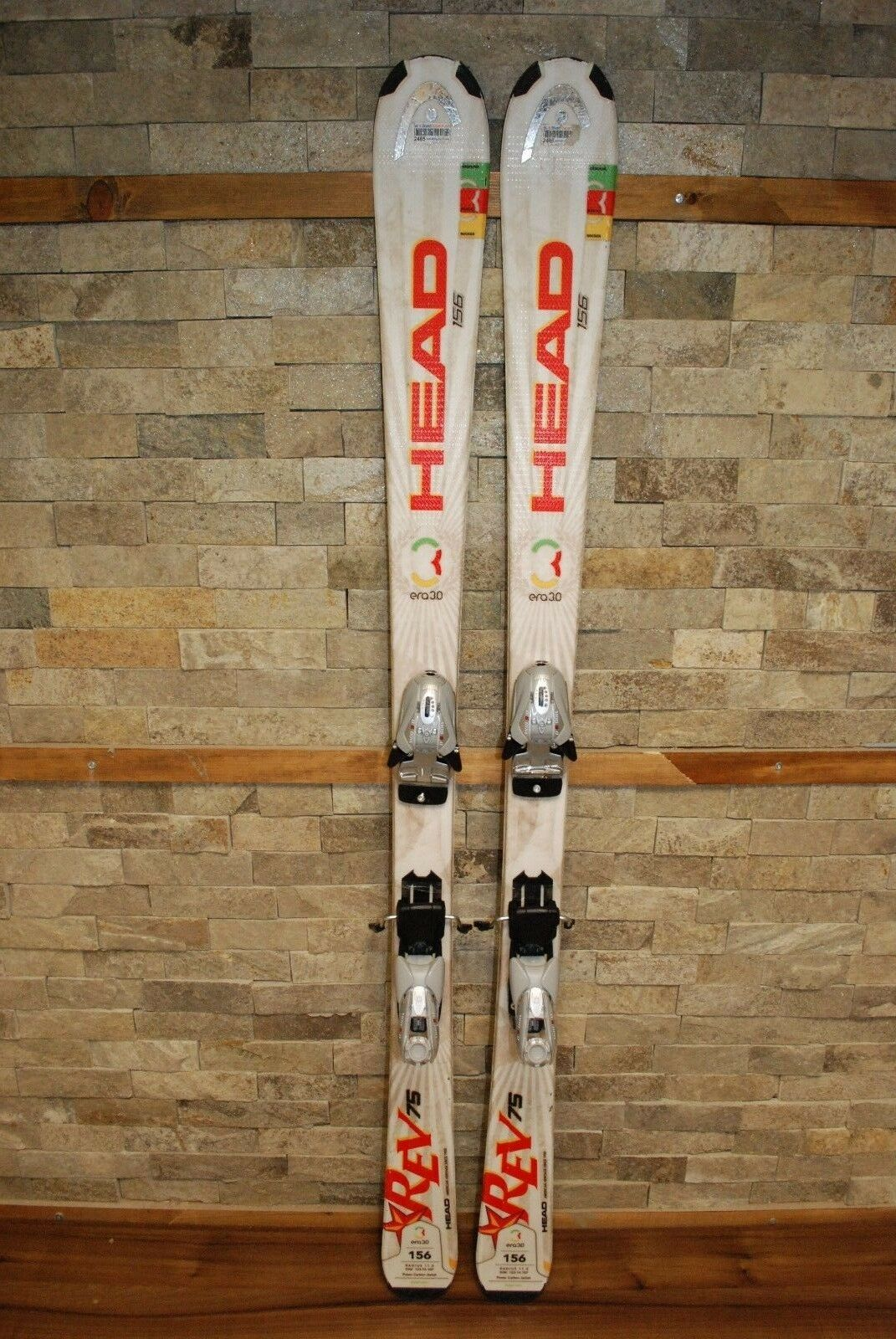 HEAD REV 75R 156 cm Ski + BRAND NEW Marker EPS Mod 9.0 Bindings