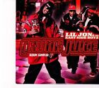 (DZ594) Lil Jon & The East Side Boyz, Crunk Juice Album Sampler - 2005 DJ CD
