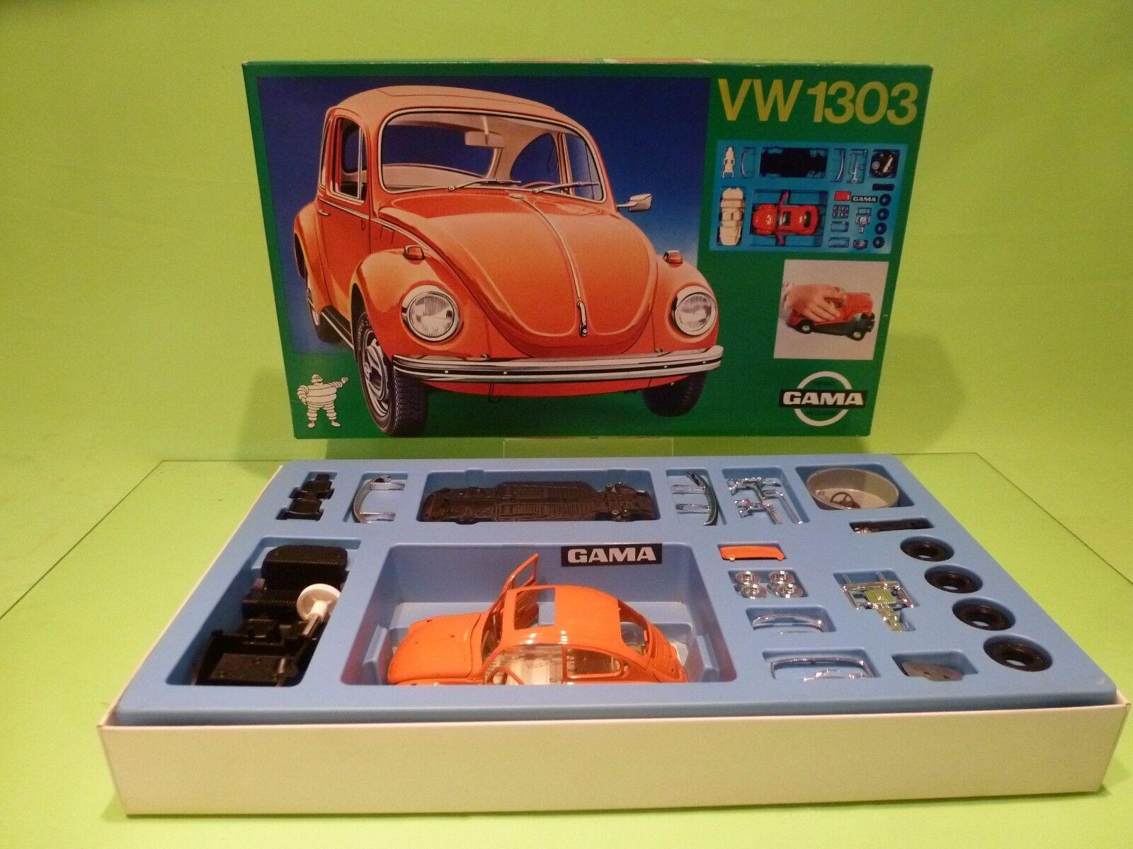 GAMA 4425 KIT (unbuilt) VW VOLKSWAGEN BEETLE 1303 - 1 24 - EXCELLENT IN BOX