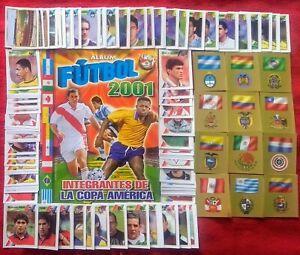 Navarrete-Copa-America-2001-Stickers-Empty-Album-Complete-Set
