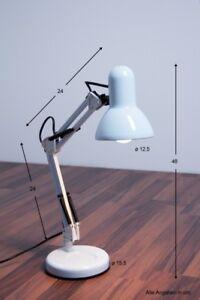 B rolampe schreibtischlampe leselampe leseleuchte tischlampe kinderzimmer wei ebay - Tischlampe kinderzimmer ...