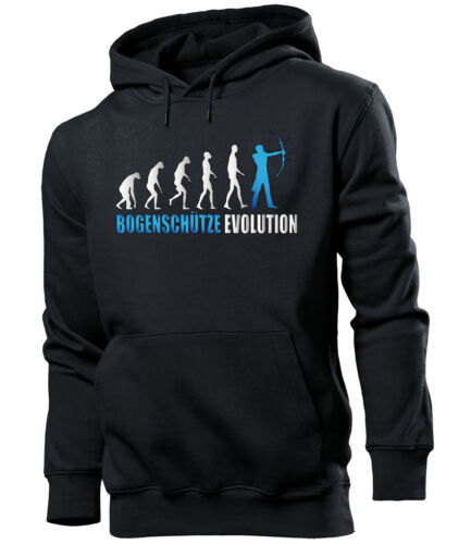 Arquero Evolution señores sudaderas S-XXL