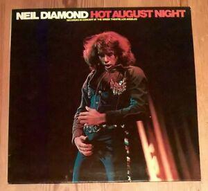 Neil-Diamond-Hot-August-Night-2-Vinyl-LP-Album-Gate-33rpm-1977-MCSP-255