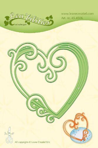 Lea/'bilities Cutting /& Embossing Dies Heart 45.4506 LeCrea Design