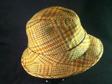 d0af1786b89 item 8 Vintage Knox Brown   Gold Mens Fedora Hat -- Sz 7 1 8 -- Irish  Walking Hat Style -Vintage Knox Brown   Gold Mens Fedora Hat -- Sz 7 1 8 --  Irish ...