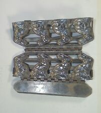 RARE Antique T.C. Weygandt  Chocolate Mold 4 Easter Bunny Rabbit candy Form #438