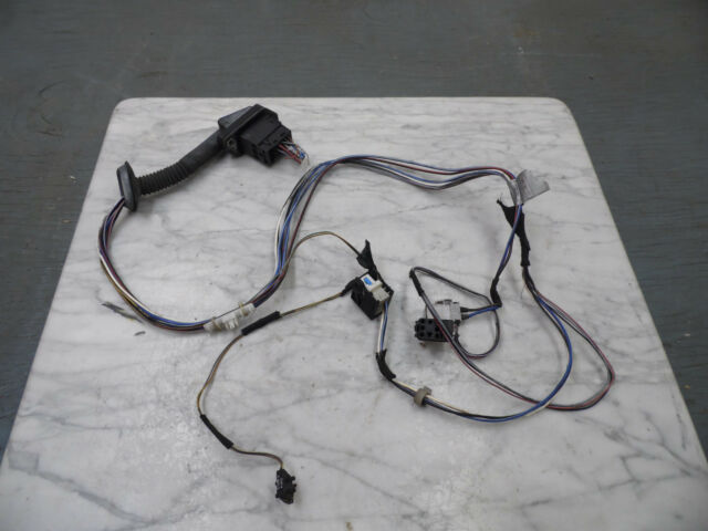 oem 1995 bmw e34 5 series 525i lr driver s side rear door inner rh ebay com Radio Wiring Harness BMW Seat Wiring Harness Diagram