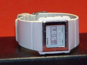 Pre-Owned-Women-s-White-Casio-BG-2001-Baby-G-Digital-Watch