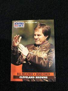 Bill-Belichick-Browns-Patriots-Head-Coach-1991-Pro-Set-126-Rookie-Card