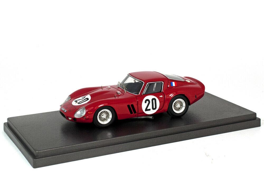1 43 Ferrari 250 GTO by Tavarco Le Mans 1963