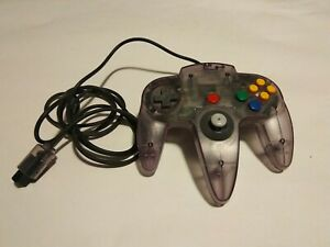 Original-Authentic-Nintendo-64-Controller-Atomic-Purple-N64-Good-Stick-OEM